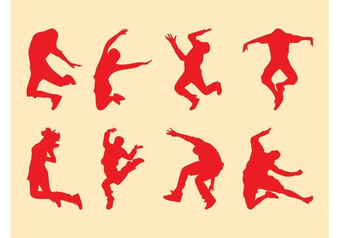 jumping-people-silhouettes