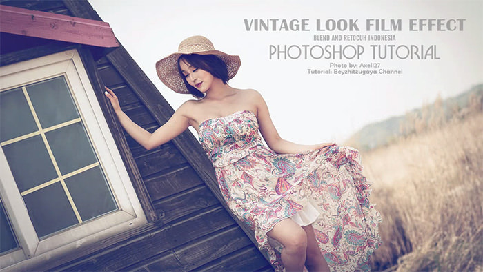 Vintage Look Film Effect