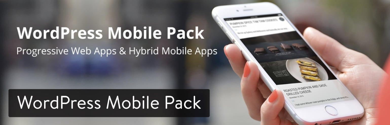 WordPress Mobile Pack plugin