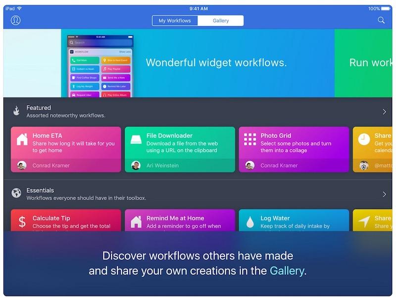 workflow-ipad-app