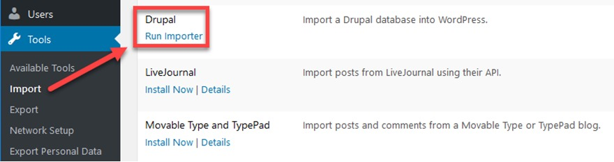 How to Migrate Drupal to WordPress