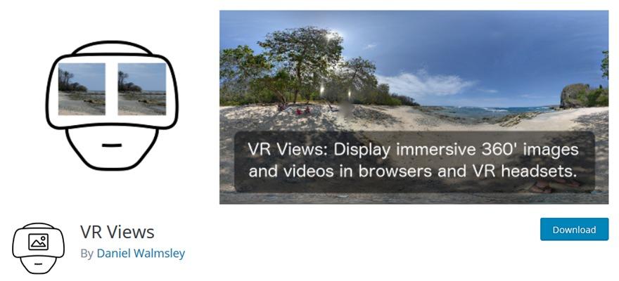 WordPress VR Gallery Plugins