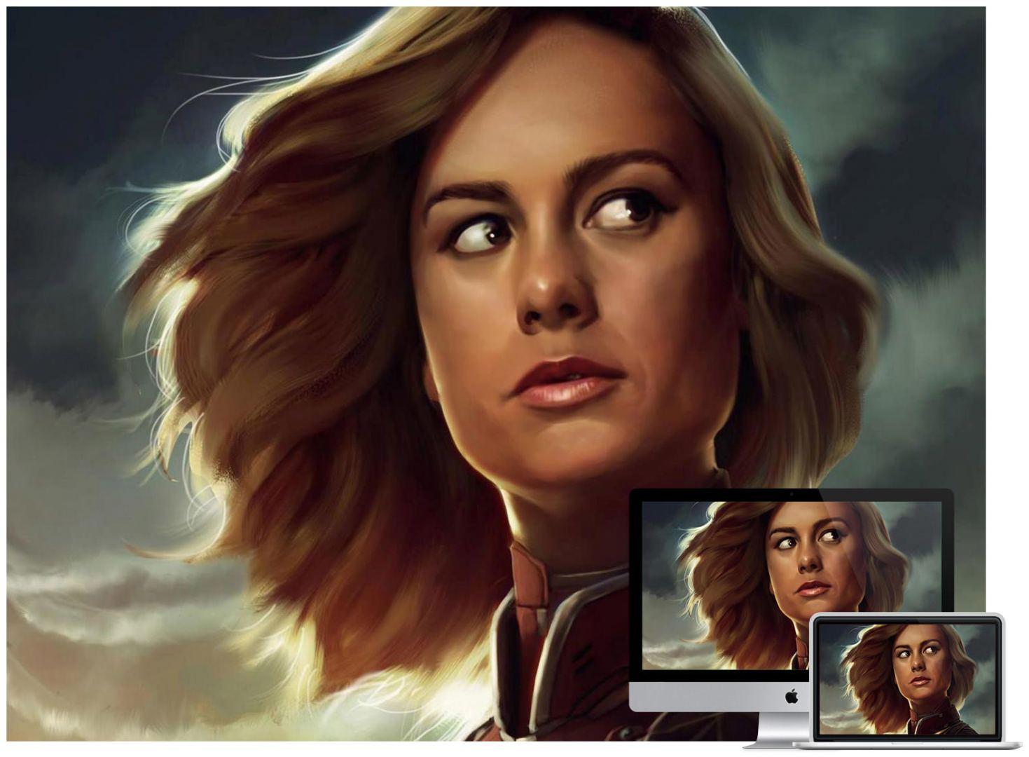 Brie Larson Artwork