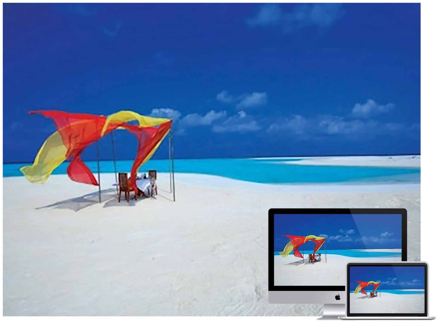 beach-sand-table-wallpaper