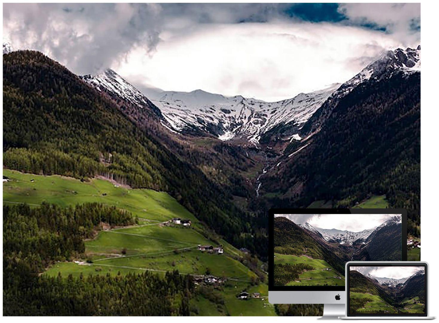 cloudy-mountains-wallpaper