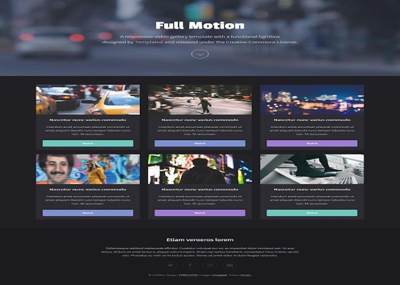 full-motion