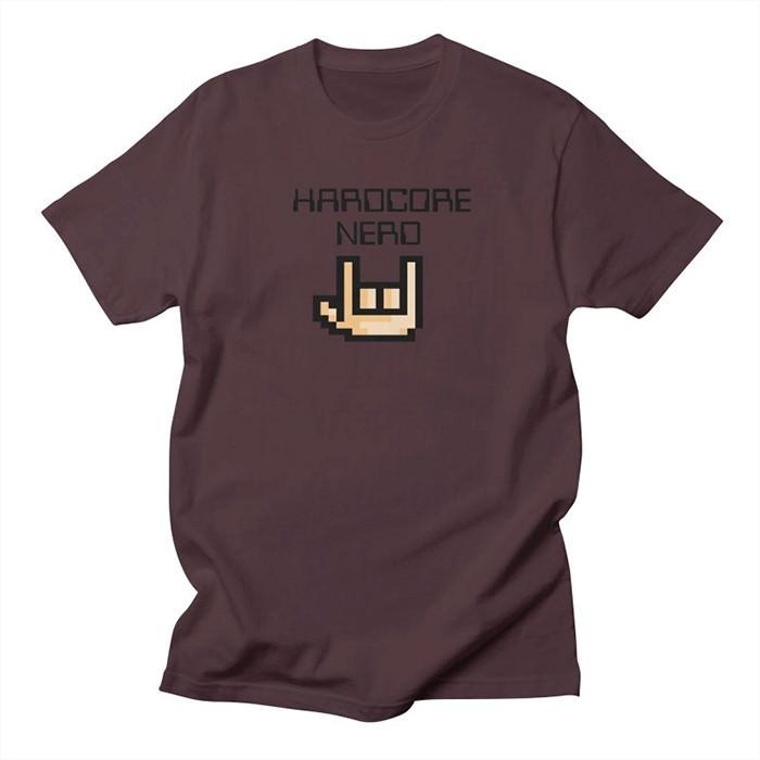 hardcore-nerd-t-shirt