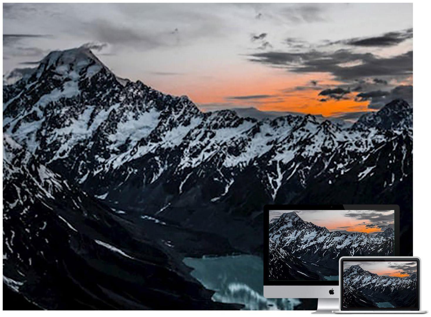 mountains-lake-top-wallpaper