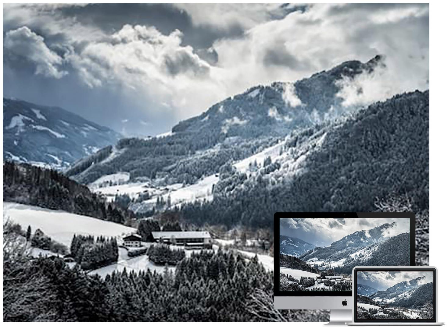 mountains-winter-snow-wallpaper