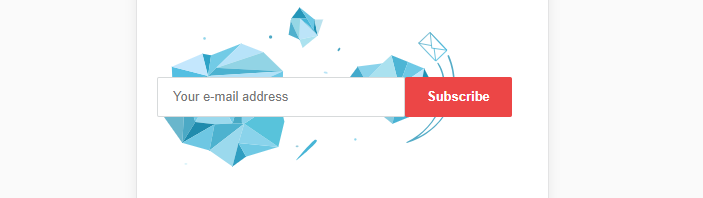 An example of a simple opt-in form.