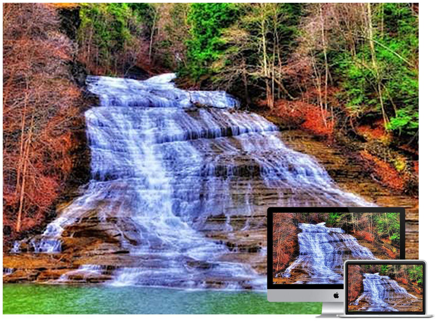 waterfall-river-wallpaper
