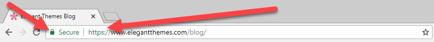 SSL Certificate Green Padlock