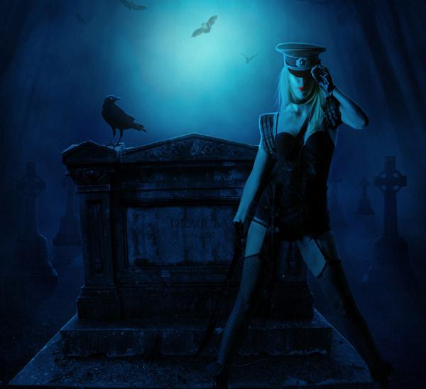 Creating 'The Vampire Hunter'