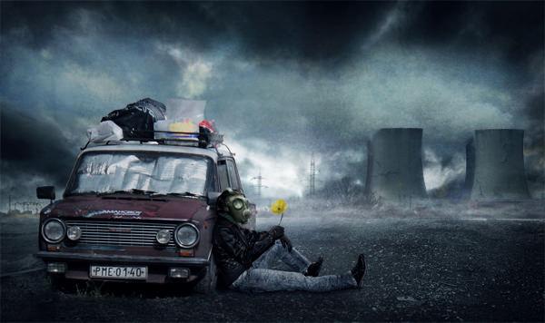 Post Apocalyptic Photo Manipulation