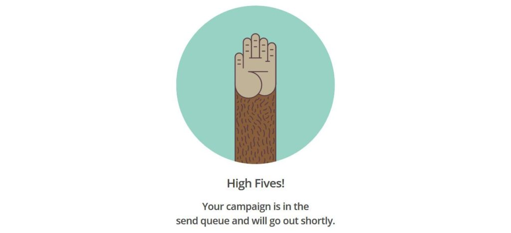 MailChimp-Success-Message