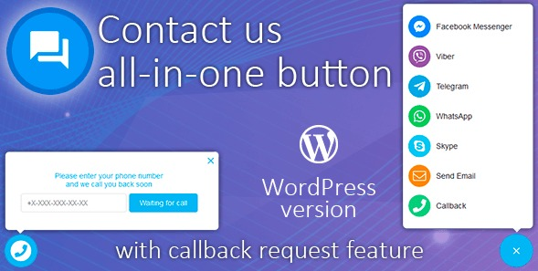 The Contact Us All-in-One Button plugin.