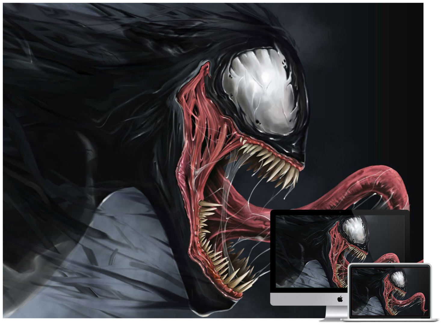 venom desktop wallpaper