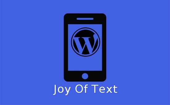 Joy of Text