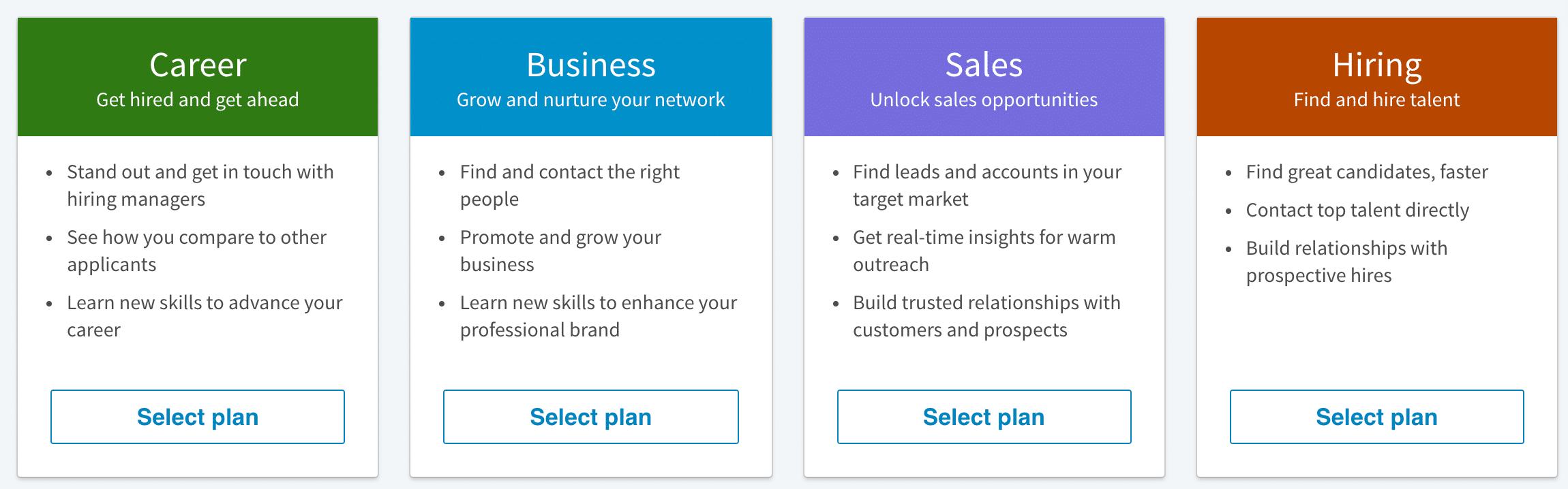 LinkedIn plans