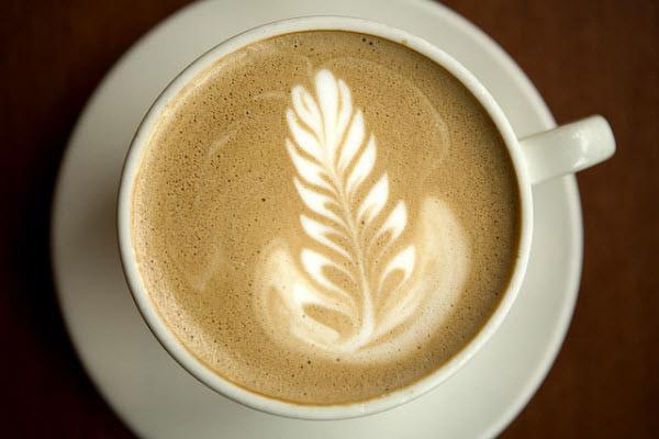 warm latte