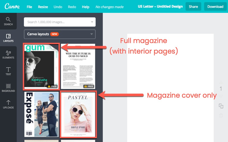 Digital Canva Magazine