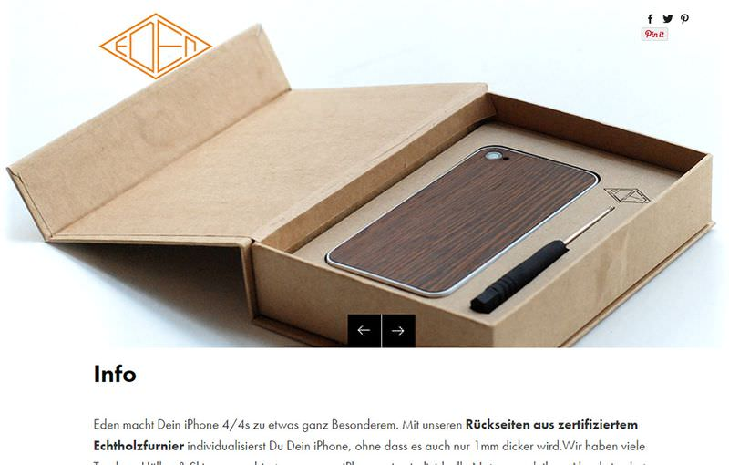 Eden Boxes Case Product Page