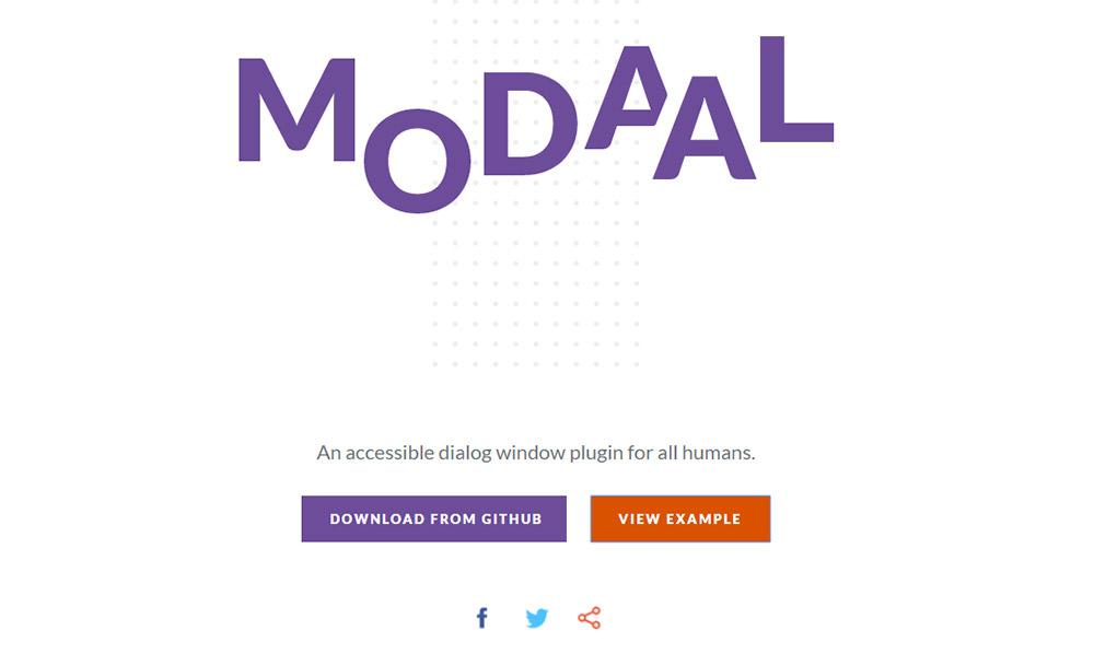 Modaal plugin