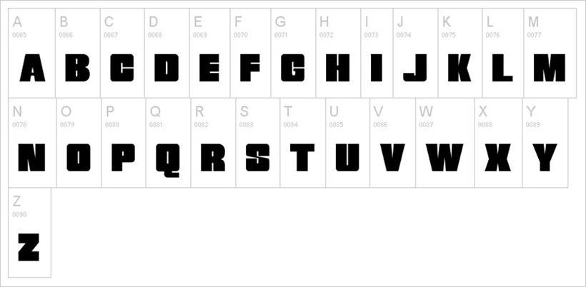 Breakaway-free-font