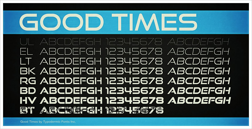Good Times-free-font