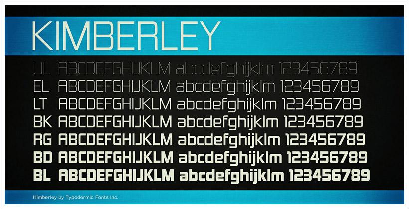 Kimberly-free-font