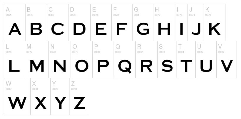 media-gothic-free-font