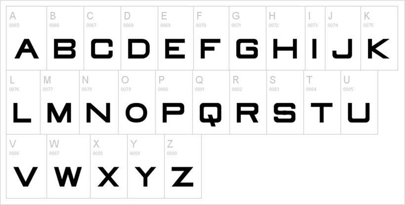 Old Republic-free-font