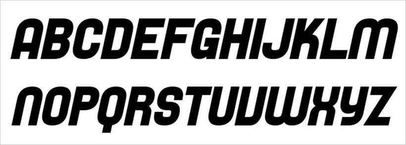 SF speedwaystar-free-font