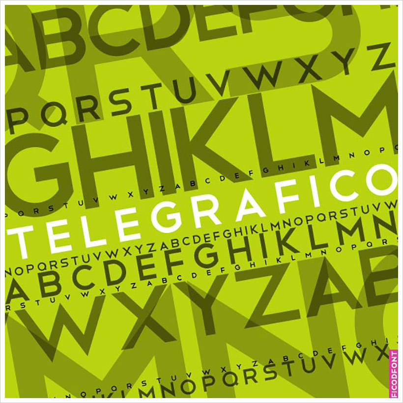 Telegrafico-free-font