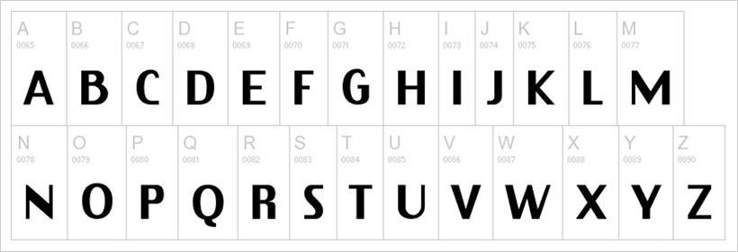 Virtue-free-font