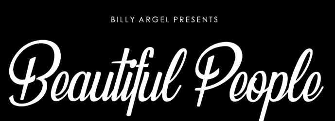 The Beautiful People font.