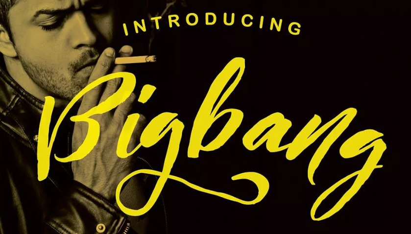 The Bigband font.