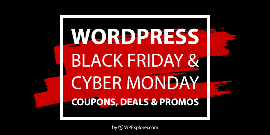 WordPress Black Friday & Cyber Monday Sales, Coupons & Deals