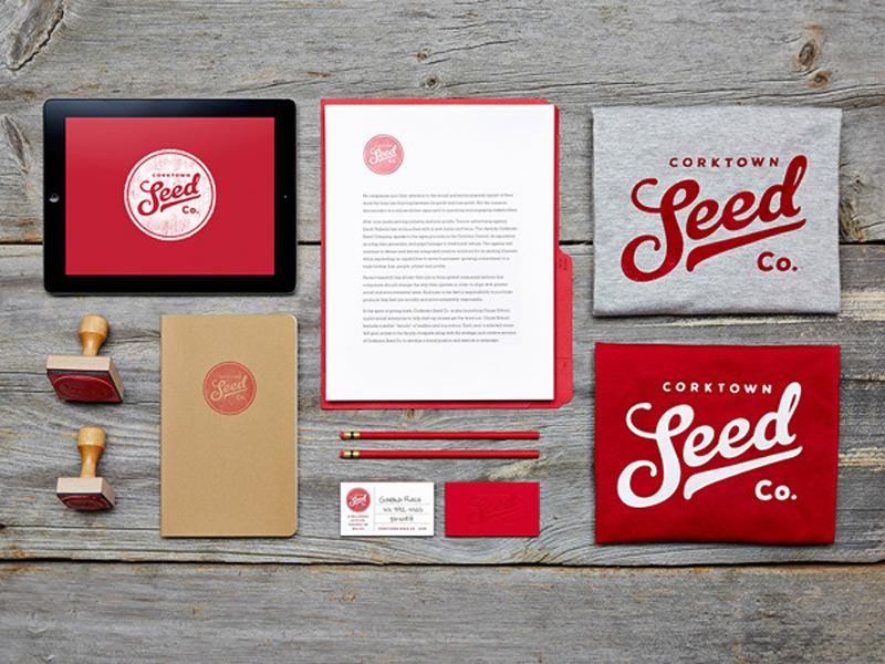 Corktow Seed Company Identity