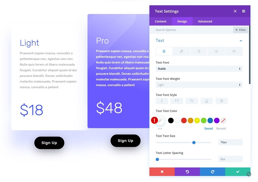 software sale landing page