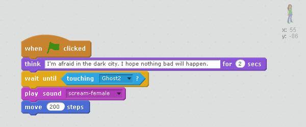 Girl's script