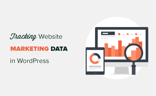 Tracking marketing data in WordPress