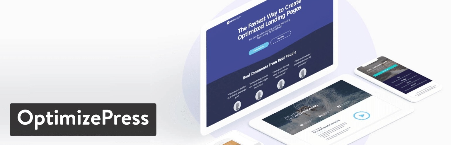 OptimizePress landing page plugin