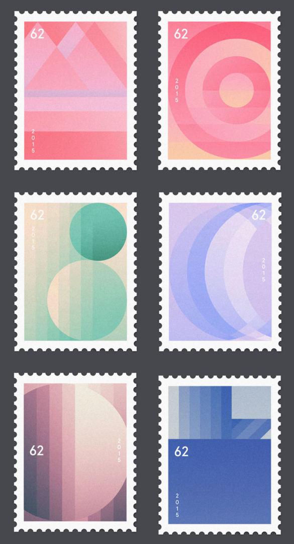 minimalist stamp