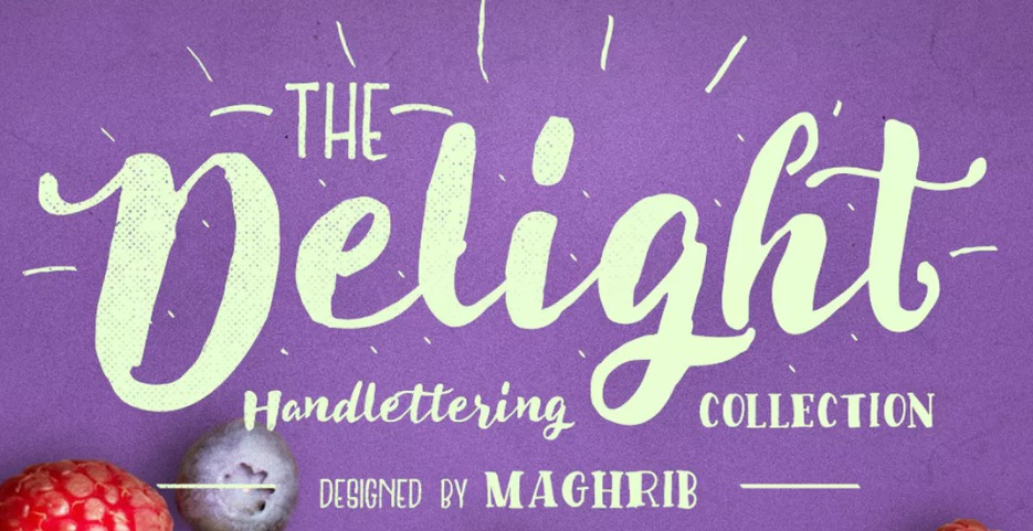 The Delight font.
