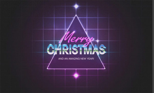 80s-christmas-photoshop-illustrator-tutorials