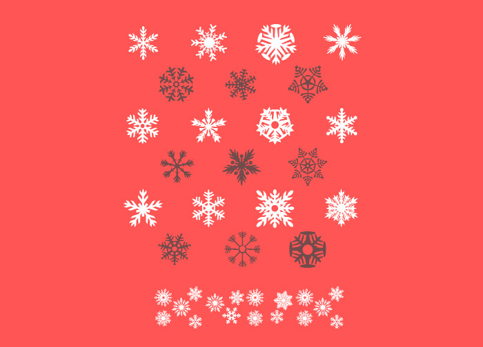 christmas fonts by David Holm
