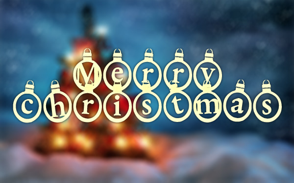 kerstkaarten-christmas-font