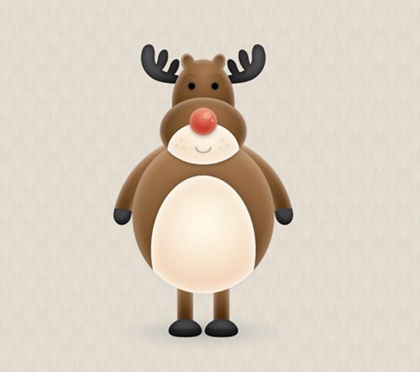reindeer-character-in-illustrator-tutorial
