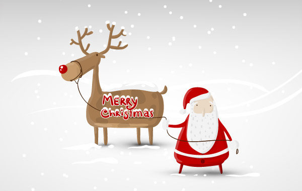 santa-claus-vector-design